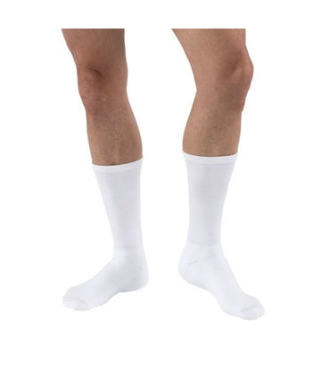 Activa H313 CoolMax Athletic Socks Crew Length 20-30mmHg Closed Toe