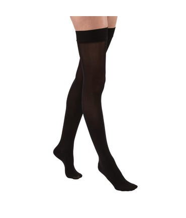 Jobst Opaque Firm Support Thigh High With Silicone Dot Band 20-30mmHg Compression