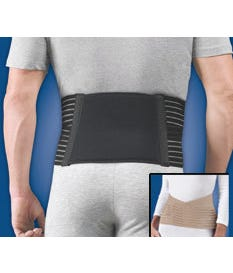 """FLA Sacral Iliac Support With Compression Pad 6"""" High"""
