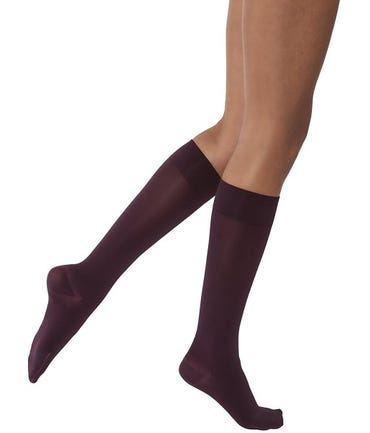 Jobst Jobst Opaque 15-20 mmHg Medium Support Knee High Closed and Open Toe - OPKNSF12